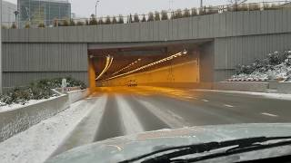 New Seattle Tunnel Opening Day Drive Southbound 02/04/2019