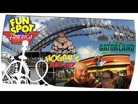 Hogan's Beach Shop / Fun Spot Kissimmee / Old Town / Gatorland - Orlando Tour Tag 5