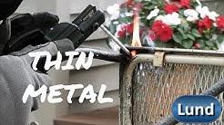 STICK WELDING THIN METAL  using 120 volt power - 💥Beginner Welding Series