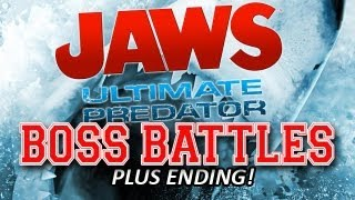 Jaws: Ultimate Predator Wii-Mote Boss Battles and Ending