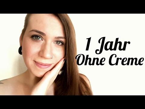1 Jahr ohne Gesichtscreme  Haut von Creme Sucht befreien  Mein Fazit