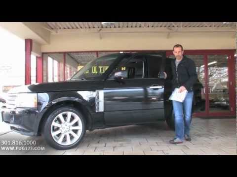 2008 Land Rover Range Rover Supercharged For Sale With Test Drive, Walk Through Video