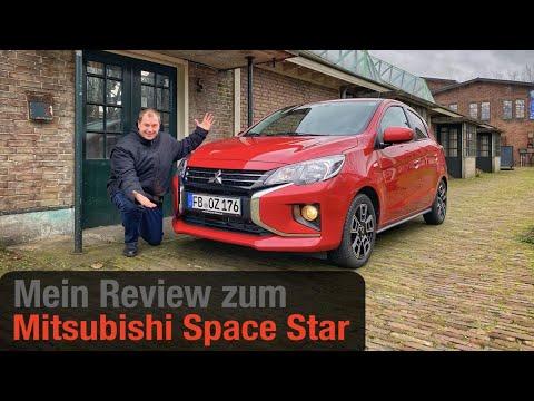 Mitsubishi Space Star 1 2 Cvt Intro Der Einstiegs Diamant Test Review Fahrbericht Youtube