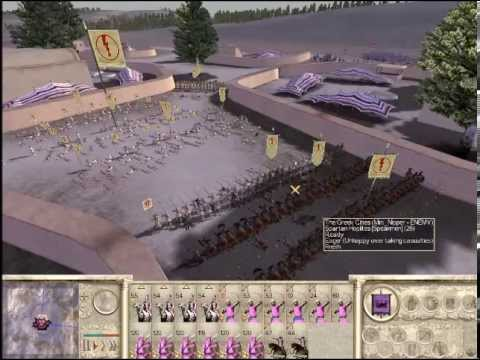 Rome Total War Special Part 5 Parthia vs Greece, The strength of Light infantry and numbers