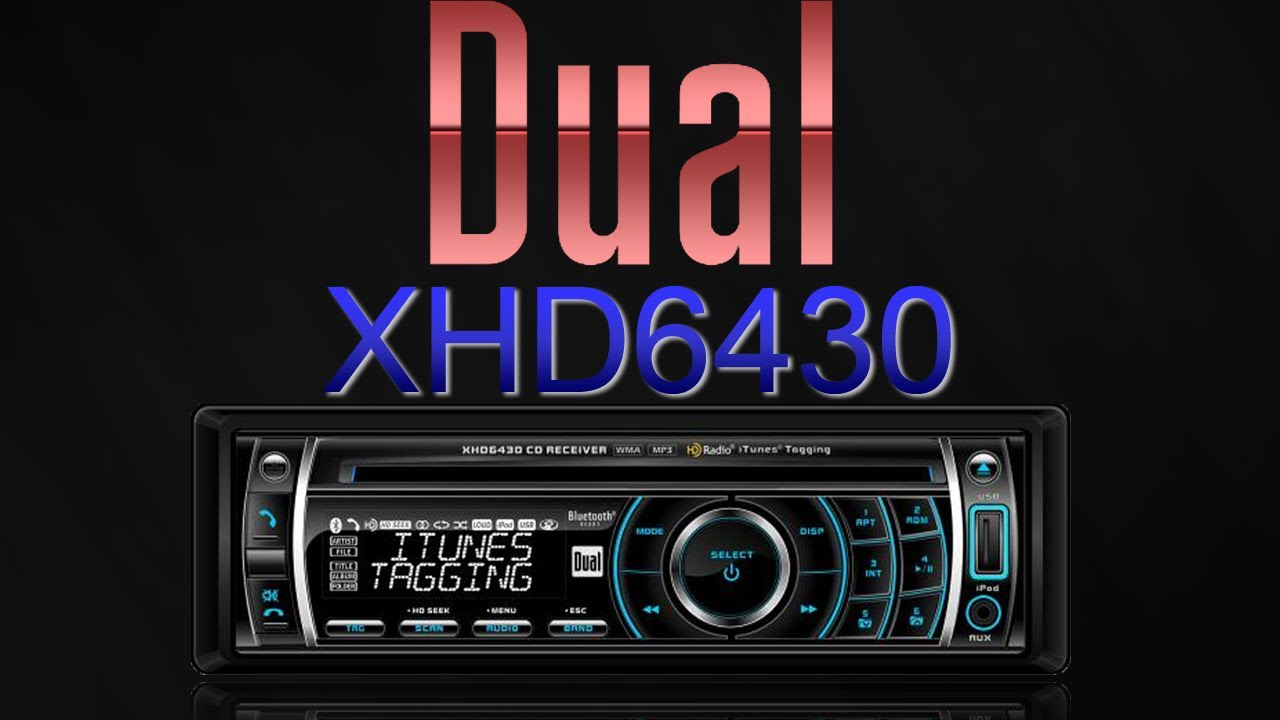 maxresdefault xhd6430 car stereo by dual review youtube dual xhdr6435 wiring harness at edmiracle.co