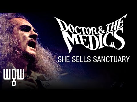 Whitby Goth Weekend - Doctor And The Medics - 'She Sells Sanctuary' Live