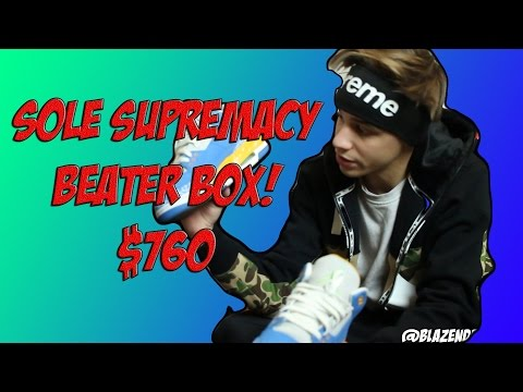 SOLE SUPREMACY BEATER BOX $760