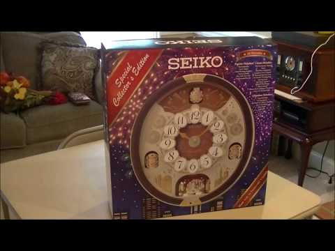Seiko melodies in motion 2017 unboxing and review QXM574BRH