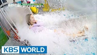 1.5 ton water cannon! Throwing GFRIEND into water! [Battle Trip / 2017.08.18]