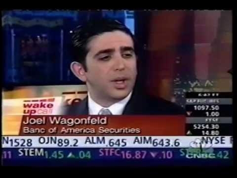 Joel Wagonfeld: Live on CNBC in NY -- IBM 2002 Analyst Meeting