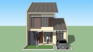 House design  tutorial with Sketchup