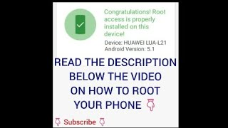 Root Available for Huawei Y3 II LUA-*** 2016 Edition|| ROOT HUAWEI Y3II LUA-*** 2016