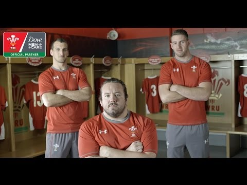 Wales Rugby Outtakes: Players Maintain the Millennium Stadium