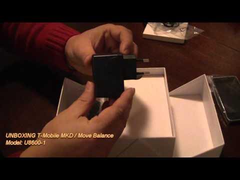 UNBOXING T-Mobile Move Balance U8600-1
