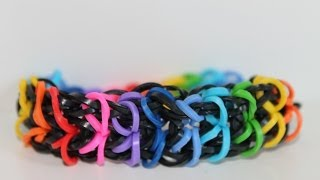 Rainbow Loom, Nederlands, Zippy Chain, armband