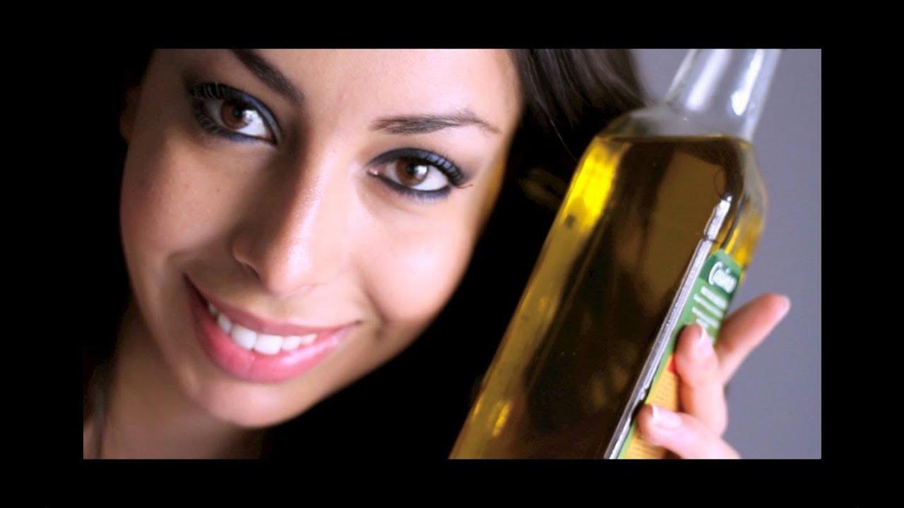 huile olive peau