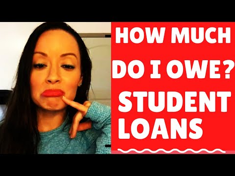 HOW MUCH DO I OWE IN STUDENT LOANS???? STUDENT LOAN DEBT: VLOG: HOW TO PAY OFF STUDENT LOANS FASTER