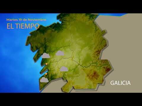 El tiempo en Ourense este martes, 19 de noviembre