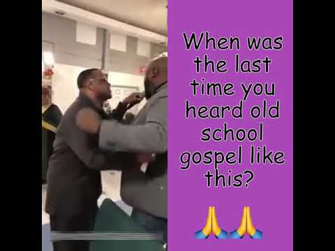 THAT OLD SCHOOL GOSPEL GRANDMA TOLD YOU ABOUT!🙏🙏