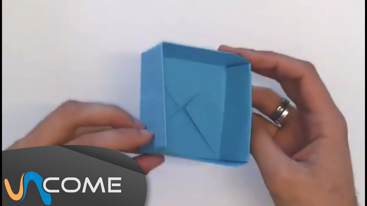 Fare una scatola con origami youtube for Fare una casa online gratis 3d