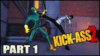 """Kick Ass 2: The Game Walkthrough Part 1  """"Black Death"""""""