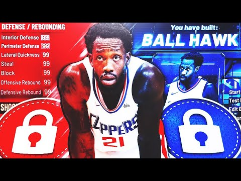 BEST BALL HAWK BUILD ON NBA 2K20! RARE BUILD SERIES VOL. 1