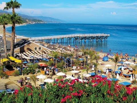 Malibu Paradise Cove Beach Amp Cafe Youtube