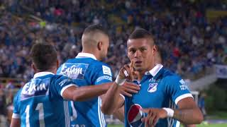 Millonarios 2 - 0 Once Caldas. Fecha 16 Liga Aguila 2017 –II – Win Sports