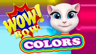 Learn Colors with Funny Cat | Kids TV Show | Baby Toys | Funny Video