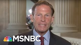 Senator Richard Blumenthal: Jeff Sessions Should Resign If Mueller Is Fired | Morning Joe | MSNBC Free HD Video