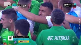 CRVENA ZVEZDA - INĐIJA | Prvi gol (Inđija): Branislav Tomić