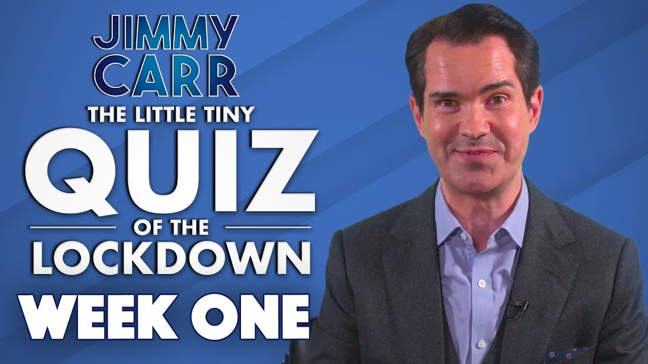 The Little Tiny Quiz Of The Lockdown | WEEK 1 Questions and ...