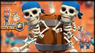 ¿ SON VIABLES LOS ROMPEMUROS A NIVEL MÁXIMO ? - Clash Royale - WithZack