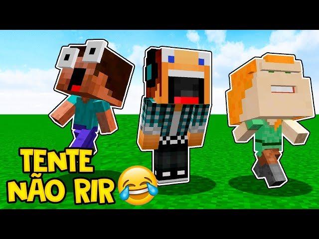 Tente Não Rir #09 - AS PIADAS MAIS ENGRAÇADAS DO MINECRAFT  !!