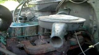 1966 Chevy 250 Inline 6 Start Up