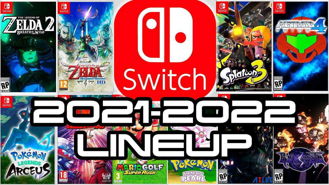 Nintendo Switch Legendary 2021 - 2022 Games Lineup!