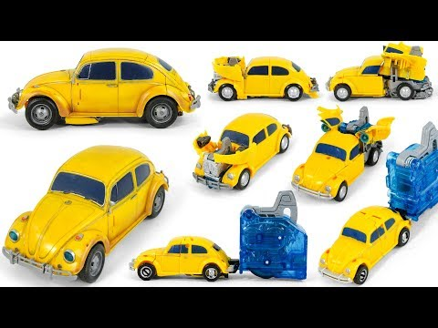 Transformers BumbleBee Movie PowerCharge PowerPlus Car Vehicles Toy Transformation