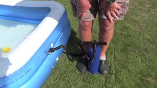 Quechua hand pump for inflatables - Review