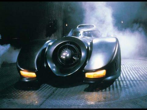 Batmobile scenes сut | Batman 1989