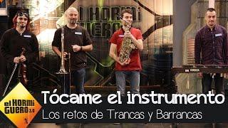 Trancas y Barrancas juegan con Pablo López a 'Tócame el instrumento' - El hormiguero 3.0
