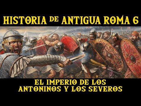 ANTIGUA ROMA 6: El Imperio de las dinastías Antonina y Severa