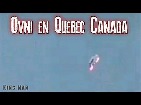 OVNI en Quebec Canada registrado el 22 de diciembre del 2020