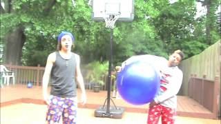 EPIC NINJAS: We invented Basketball!!