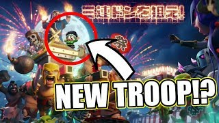 IS THIS REAL.........NEW TROOP SPOTTED!! - Clash Of Clans