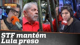 Edgard e Caio debatem sobre decisão do STF de manter Lula preso