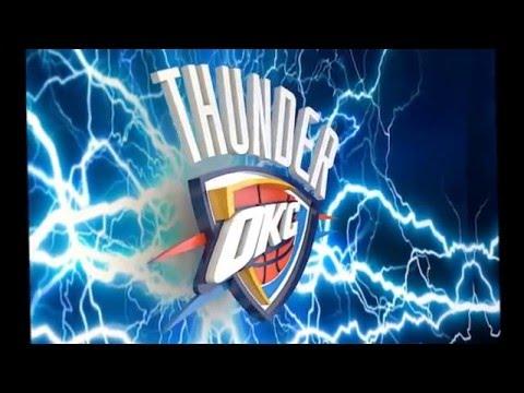 NBA - OKC 3D animation logo #1