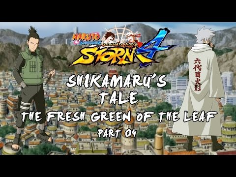 Naruto Storm 4 - The Fresh Green of the Leaf - Part 4 - Sai Trains with Team 10