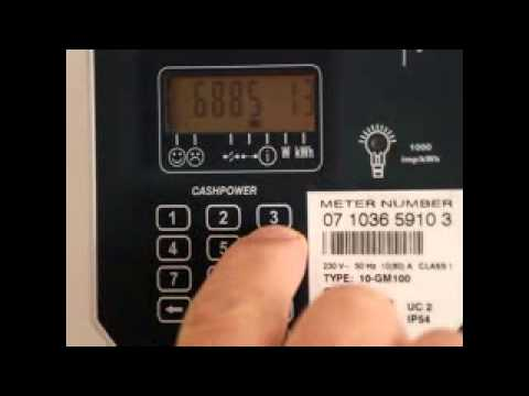How to do a keychange on a prepaid meter