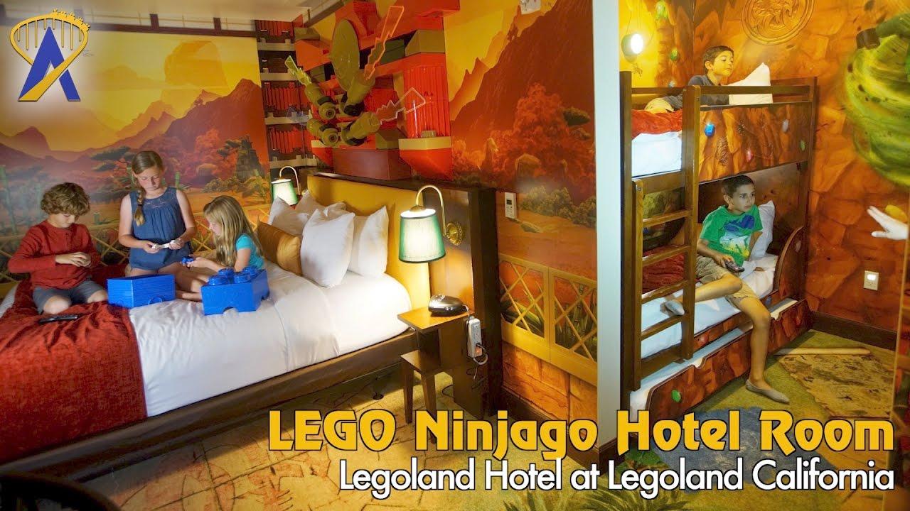 Legoland Hotel Ninjago Room At California Resort