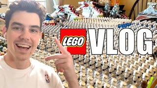 LEGO Clone Army Set-up \u0026 PS5 Frustrations :( | MandR Vlog